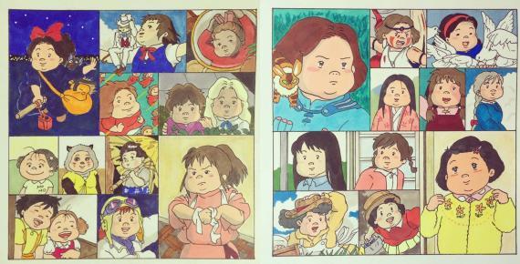 吉卜力女主角變身「肉肉女」?白龍、飛鳥、無面男都變胖!
